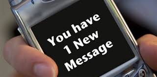 received message notification