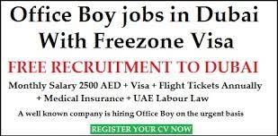 Office Girl and Boy Recruitment in Dubai, UAE