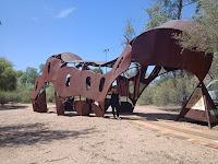 Alice Springs Public Art | Caterpillar