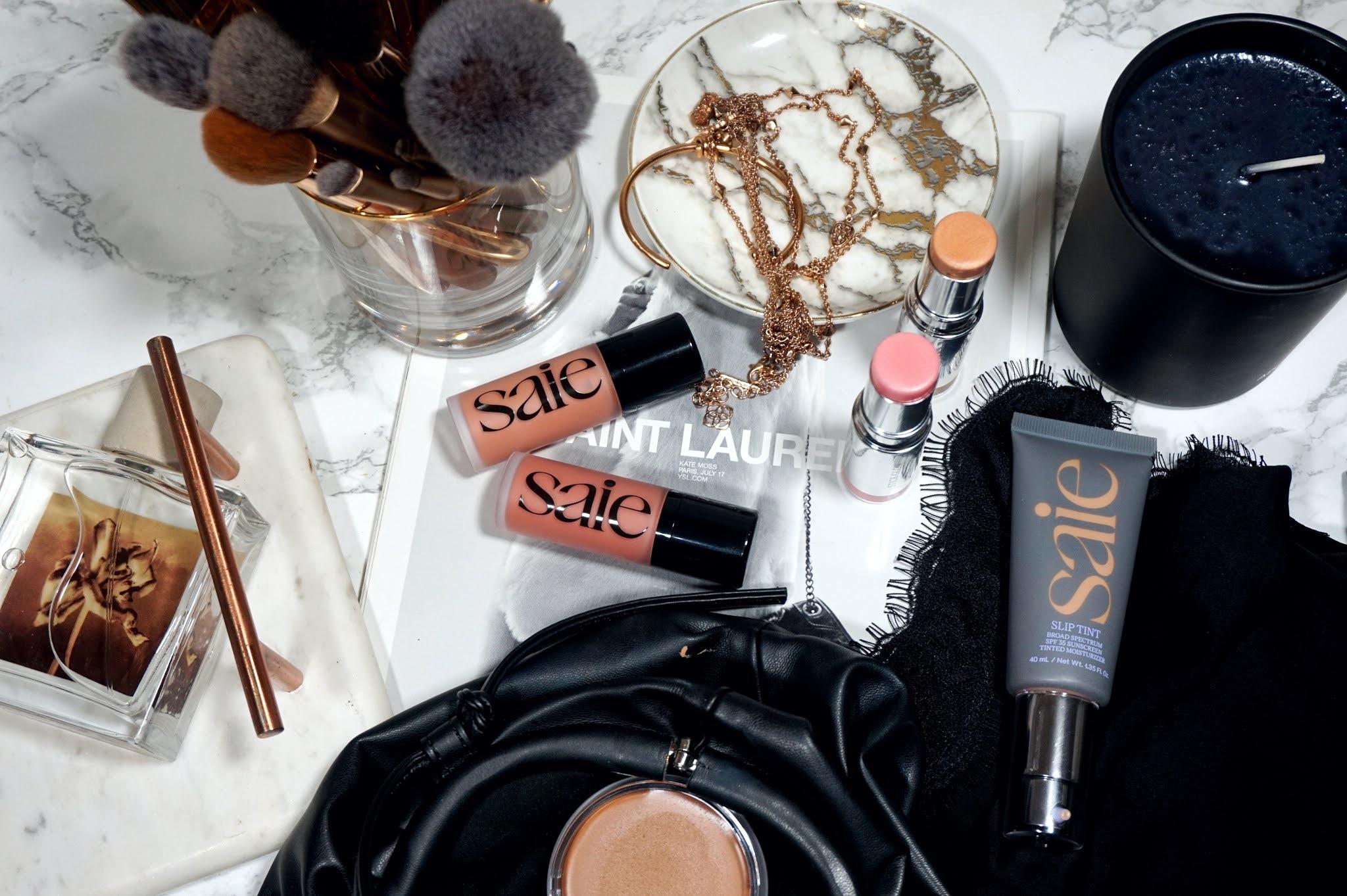 Saie Dew Blush Liquid Cheek Blush Review and Swatches