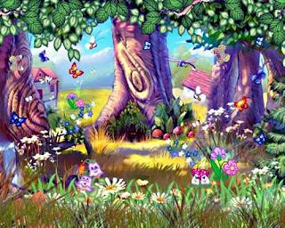 Осенний лес картинка