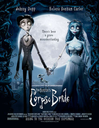 Poster Of Corpse Bride 2005 English 300MB BRRip 480p ESubs Watch Online Free Download Worldfree4u