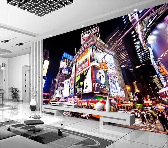 New York tapet Times Square fototapet City stadstapet