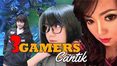 3 GAMERS CANTIK ESPORT INDONESIA