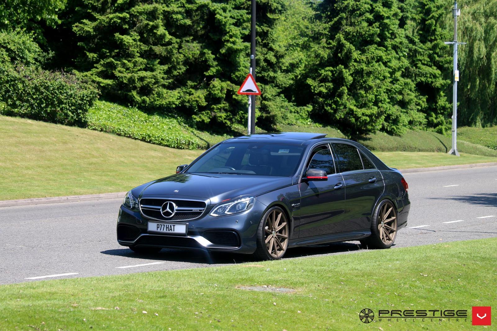 Mercedes Benz W212 E63 Amg On Vossen Vfs10 Wheels Benztuning