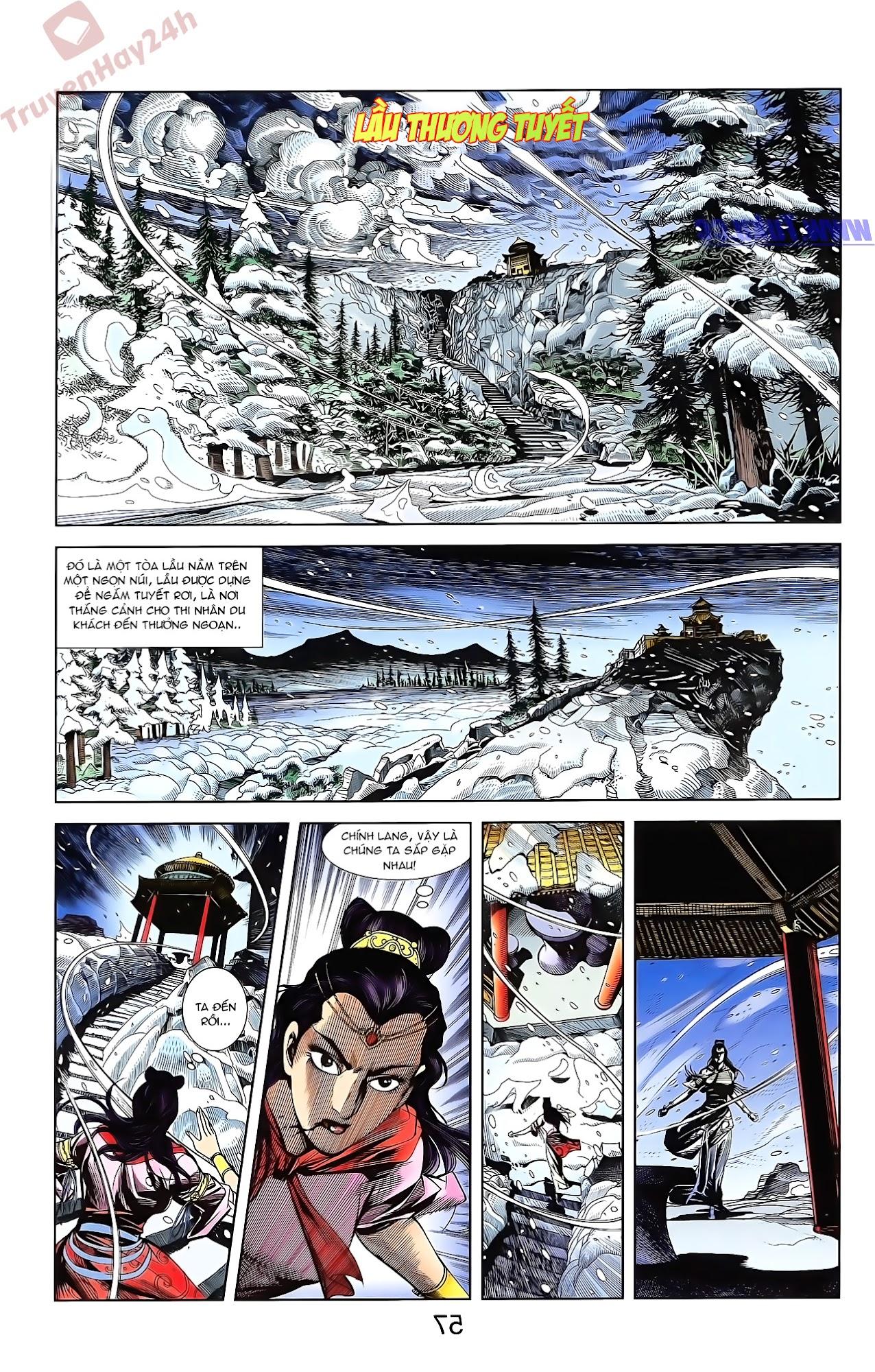 Tần Vương Doanh Chính chapter 51 trang 24