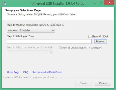 Free Universal USB installer