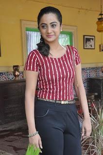 Actress Namitha Pramod Stills on talabbayi sets  0013.jpg