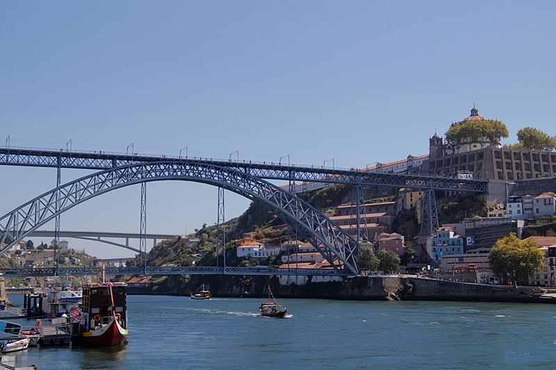 Ponte Dom Luís I Bride, Porto, Douro River
