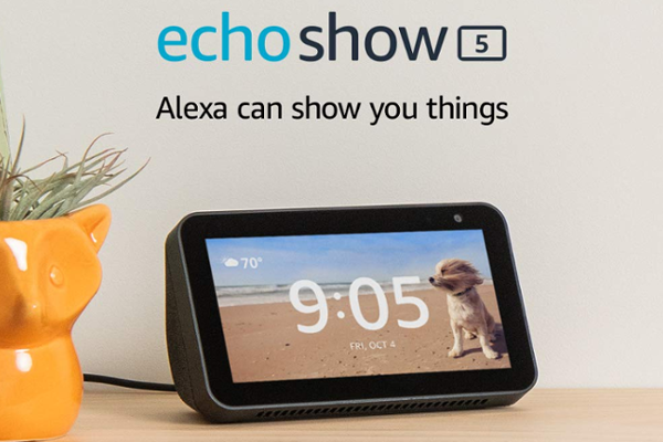 Amazon introduces Echo Show 5 with 5.5-inch display, 1MP HD camera and Built-in camera shutter