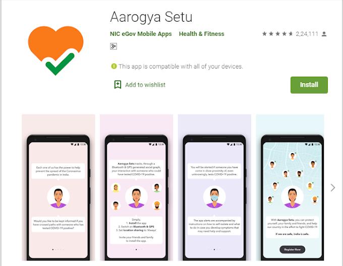 Aarogya Setu app Review   An App better than Medicine