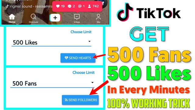 How To Increase Tik Tok Followers And Likes | Tik Tok Liker website