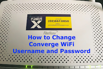 How to Change Converge WiFi Username and Password
