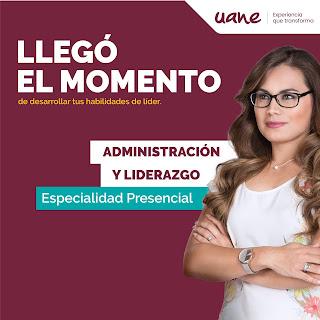 Maestría en Administración y Liderazgo en Uane Matamoros