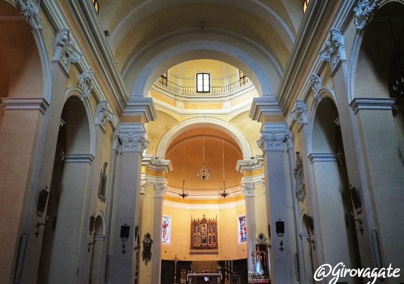 Arcevoa Collegiata San Medardo Marche