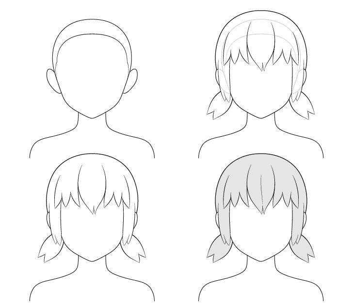 cara Menggambar Kuncir Anime Pendek Rendah.jpg