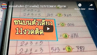 Thailand lottery exclusive tips English 16 September 2019