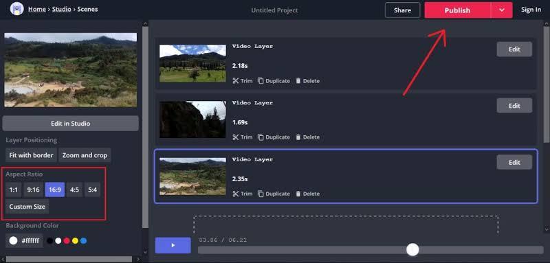 cara menggabungkan video tanpa aplikasi