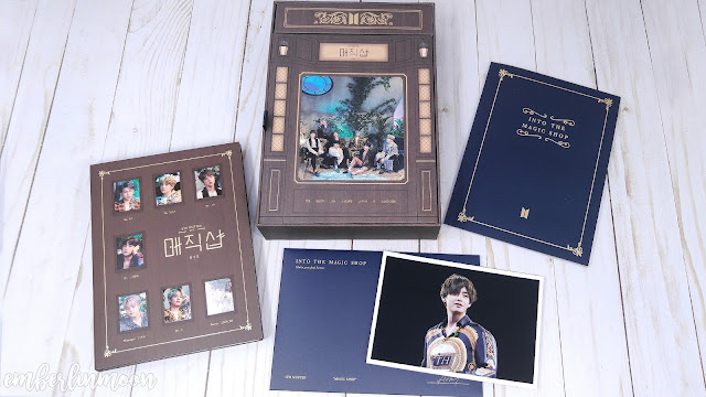 BTS 5th Muster Magic Shop Blu-Ray Unboxing