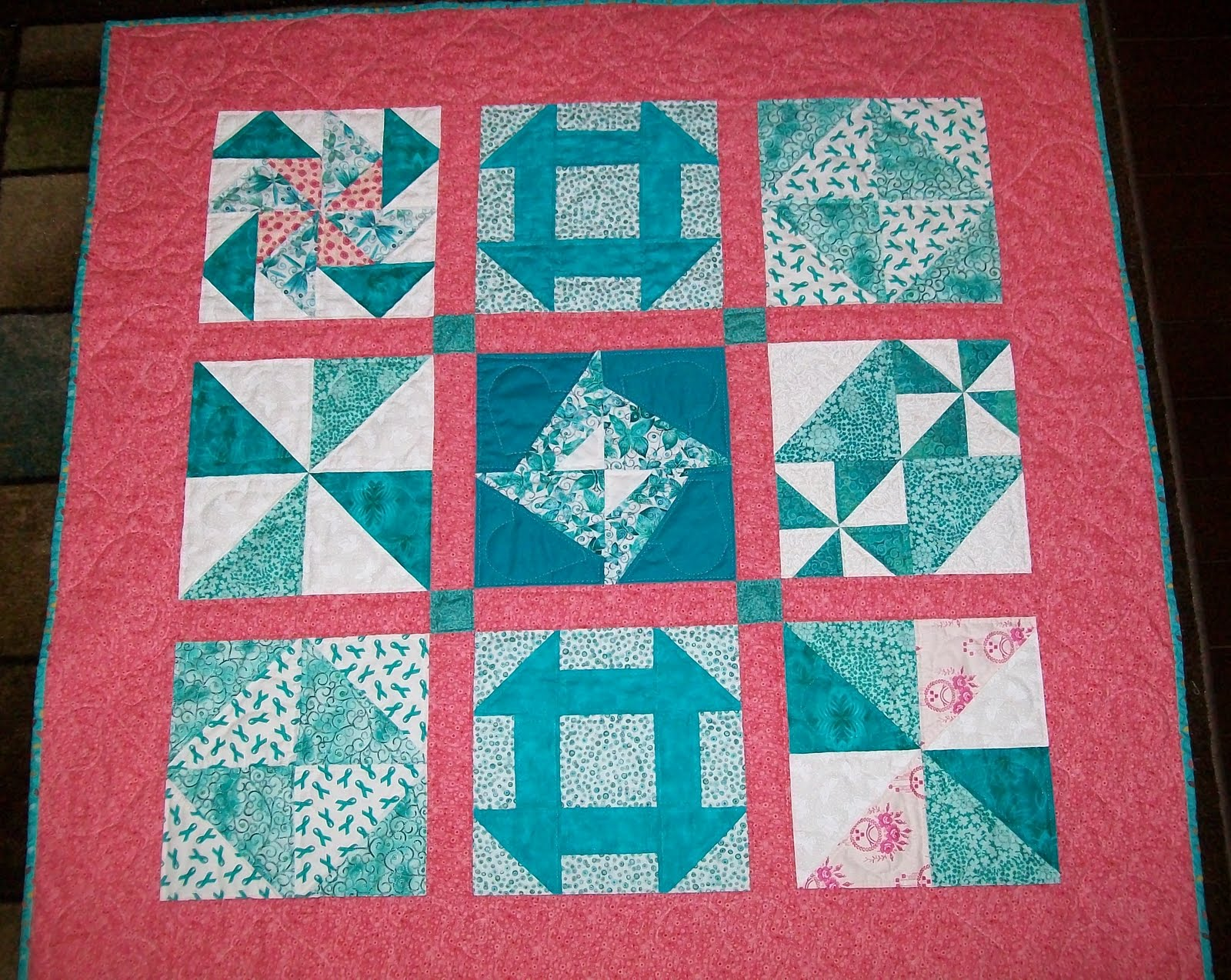 Ovarian cancer quilt auction Ovarian cancer quilt auction