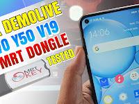 Cara Unlock Hp Demo live Vivo Y50, V19 Menggunakan Mrt Dongle Versi 3.57 Tested 2020