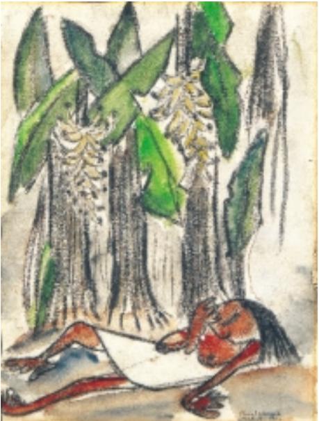 La siesta, 1952