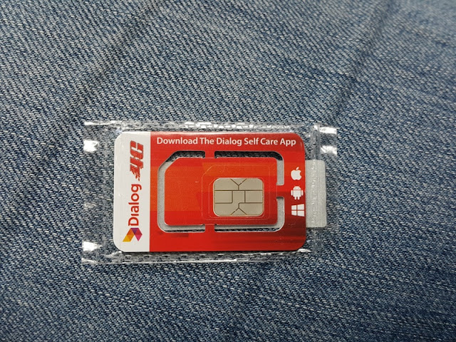 Chip de celular para usar internet no Sri Lanka