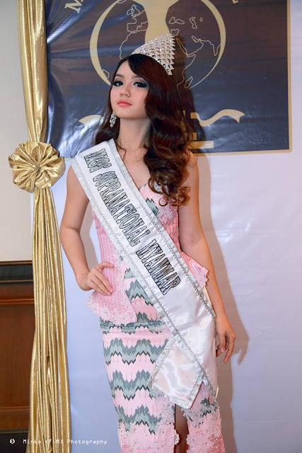 Khin Wint Wah-Myanmar Model Girls