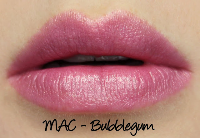 MAC MONDAY | Spring Colour Forecast - Bubblegum Lipstick Swatches & Review