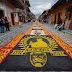 Alfombras de aserrín en Xico, Veracruz