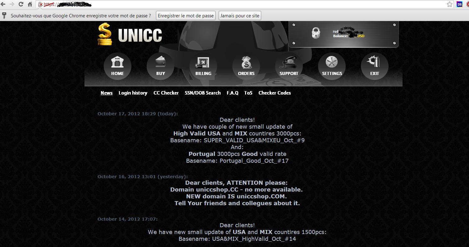 Tracking Cybercrime: Cardshop promo video