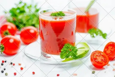 فوائد عصير الطماطم للبشره -مواضيع