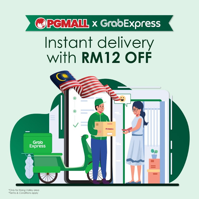 PG Mall Instant Delivery With RM 12 Off