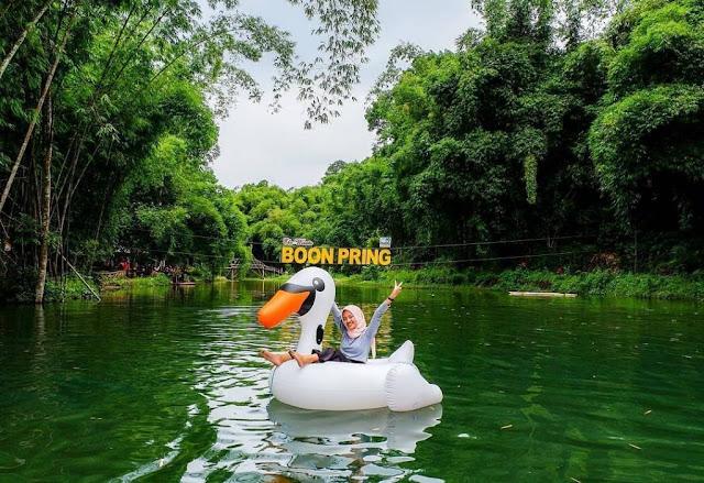 hutan bambu Boon Pring Malang