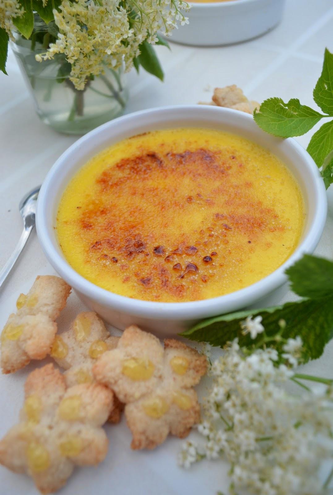 Recette Fleur De Sureau : recette, fleur, sureau, Crème, Brûlée, Fleur, Sureau, CC-cuisine