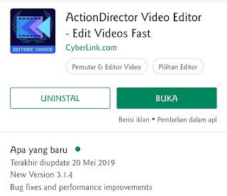 Aplikasi Edit Video Terbaik Buat Android Yaitu Action Director