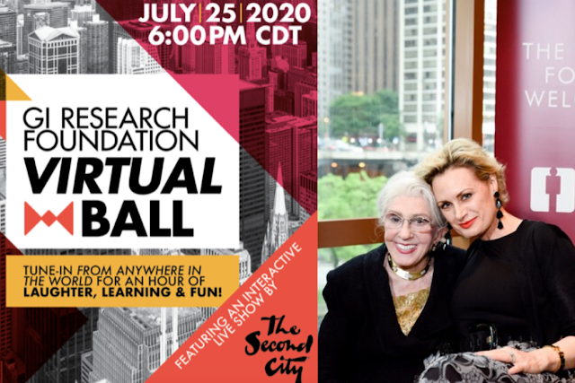 Gastro-Intestinal Research Foundation Virtual Ball July 25, 2020