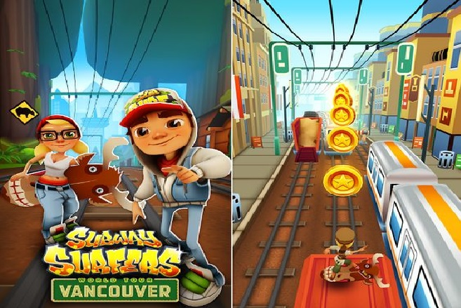 Subway Surfers Vancouver Mod APK Game