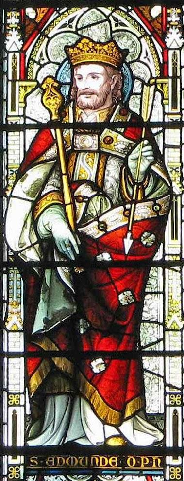 Santo Edmundo rei mártir de East Anglia
