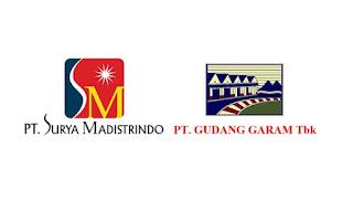 Lowongan Kerja Terbaru PT. Surya Madistrindo (Gudang Garam Group) Bulan Januari 2020