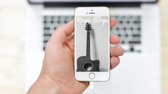 music blogs, types of blogs