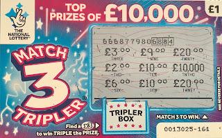 £1 Match 3 Tripler