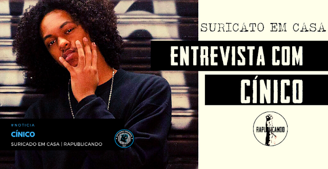 """Cínico fala sobre seus próximos projetos no """"Suricato em Casa""""   RAPublicando"""