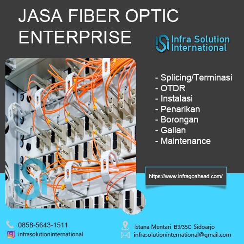 Jasa Splicing Fiber Optic Bondowoso Enterprise