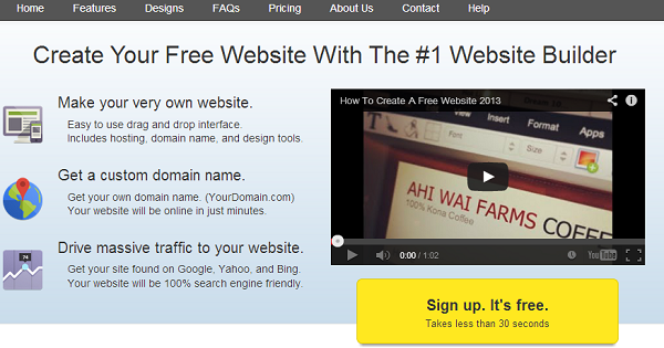atb backup: WebStarts: Create your Free Website with the Best