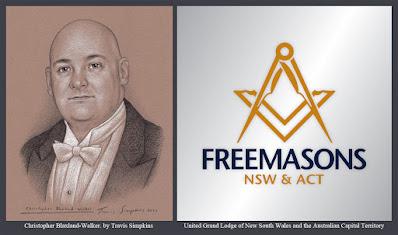 V.W. Christopher Blaxland-Walker. United Grand Lodge of New South Wales. Australia. by Travis Simpkins