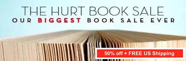 Hurt Sale Update:  340 books sold ,860 in savings