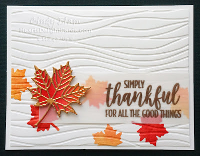 Heart's Delight Cards, Colorful Seasons, Fall, Autumn, Stampin' Up!