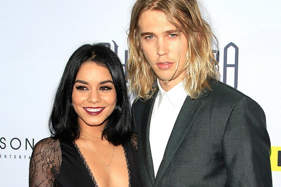 Vanessa Hudgens and Her swain desecrated  a Rock in Arizona. The Grease: Live!