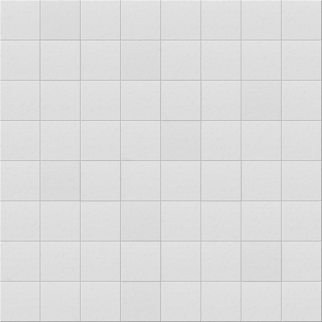 Simple plain white seamless kitchen bathroom tiles texture